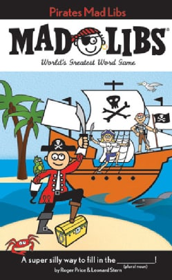 Pirate Mad Libs (Paperback)