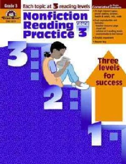 Nonfiction Reading Practice, Grade 3 (Paperback)