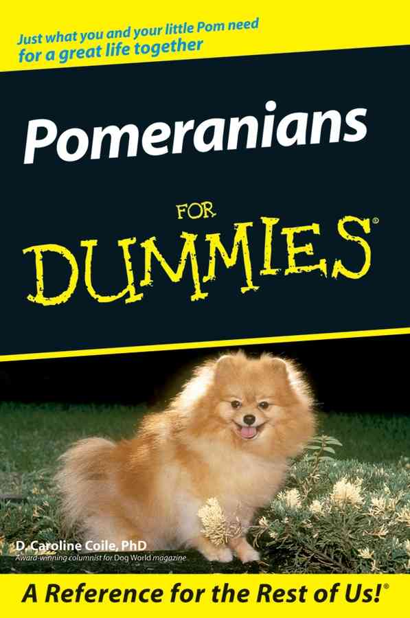 Pomeranians for Dummies (Paperback)