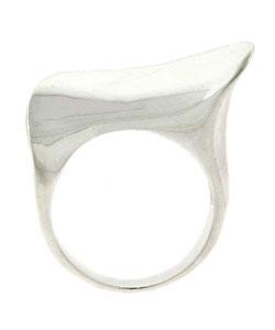 Mondevio High Polish Sterling Silver Ring