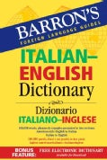 Barron's Italian-English Dictionary: Dizionario Italiano-Inglese (Paperback)
