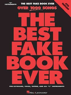 The Best Fake Book Ever: C Edition (Paperback)