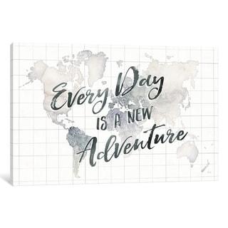 "iCanvas ""Wanderlust World Adventure"" by Laura Marshall Canvas Print"