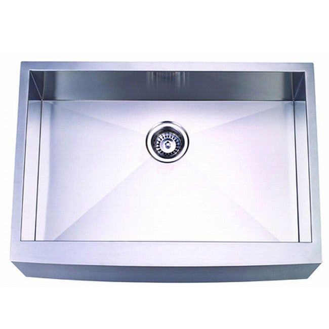 24 Inch Stainless Steel Farmhouse Sink : Farmhouse 30-inch Stainless Steel Undermount Kitchen Sink - 10509486 ...