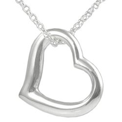 Tressa Sterling Silver Heart Necklace