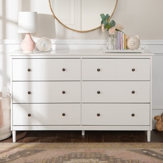 Taylor & Olive Bullrushes 6-drawer Solid Wood Dresser