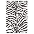 Hand-tufted Zebra Stripe Wool Rug (3' x 5')
