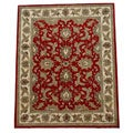 Hand-tufted Persian Red Wool Rug (8' x 10'6)