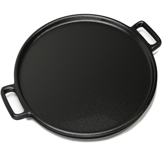 Cast Iron Pizza Pan-14 Inches Skillet for Cooking, Baking, Grilling-Durable Home-Complete