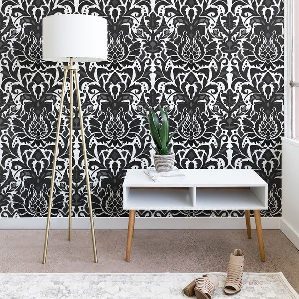 Sharon Turner Aya Damask Wallpaper
