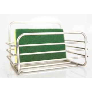 Home Basics Simplicity Collection Satin Nickel Sponge Holder
