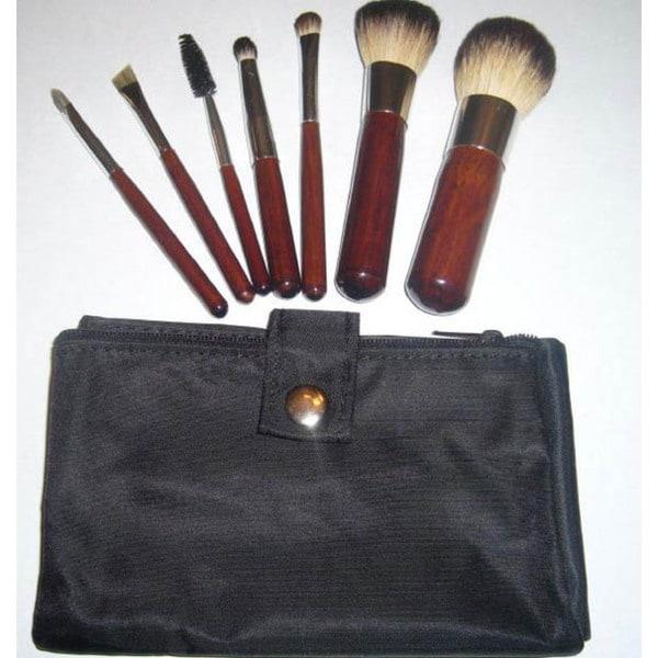 Mini Italian Badger Makeup Brush Set
