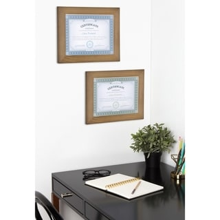 DesignOvation Museum Wood Picture Frame Set