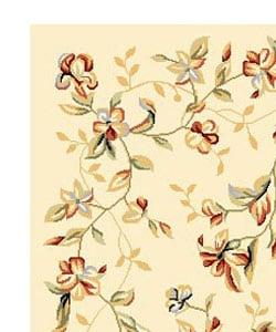 Safavieh Lyndhurst Collection Floral Beige Rug (3'3 x 5'3)