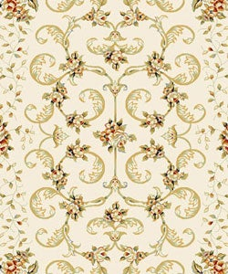 Safavieh Lyndhurst Collection Floral Ivory Rug (8' x 11')
