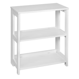 "Flip Flop 28"" High Folding Bookcase- White"
