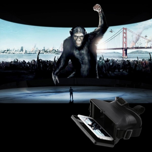 """New 3D Virtual Reality VR Glasses Head Mount for 5.5"""" Smartphone Android 37772731"""