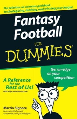 Fantasy Football for Dummies (Paperback)