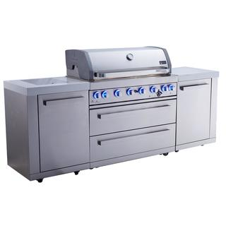 Mont Alpi BBQ Island MAi805 Outdoor Kitchen