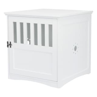 TRIXIE Coffee Table Style Dog Crate (white)