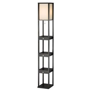 Adesso Murray Three Drawer Shelf Lamp