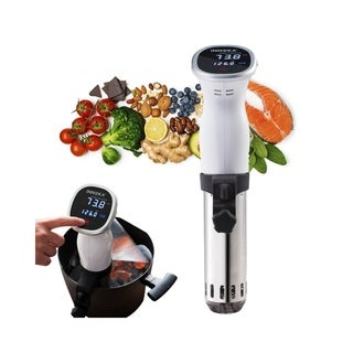 INNOKA 850W Stainless Steel Sous Vide Cooker Immersion Precision w/ LED Touch Screen, Accurate Temperature & Time Control