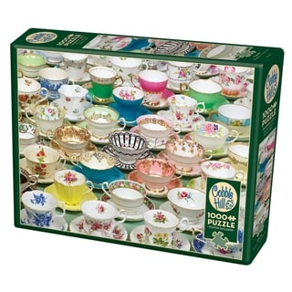 Cobble Hill: Teacups 1000 Piece Jigsaw Puzzle