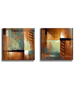 Loreth Summer Soiree Stretched Canvas Art Set II
