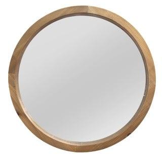 Stratton Home Decor Maddie Wood Mirror - Light Brown - A/N