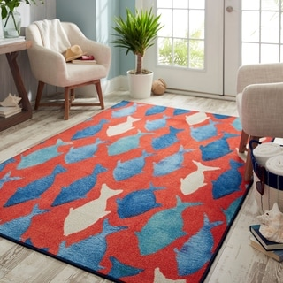 Mohawk Home Prismatic Coastal Catch Area Rug