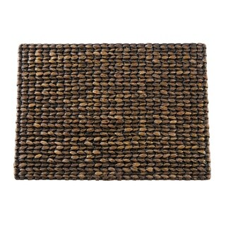 "Water Hyacinth Woven Placemats (Set of 4) - 14""x19"""