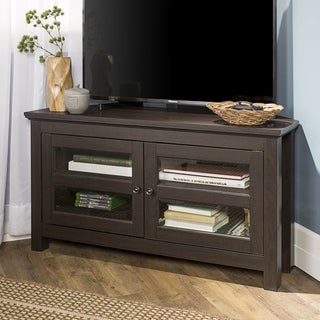 Copper Grove Bow Valley 44-inch Espresso Corner TV Stand