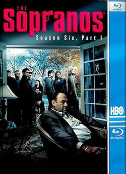 The Sopranos: Season 6 Part 1 (Blu-ray Disc)
