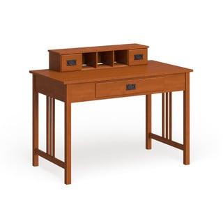 Copper Grove Eucalyptus Mission Oak Work Desk