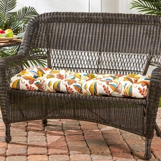 Dana Point 46-inch Outdoor Floral Swing/ Bench Cushion by Havenside Home - 17w x 44l