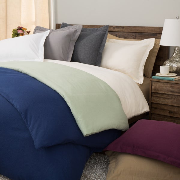 Ultra Soft/ Heavyweight German Flannel 3-piece Duvet Cover Set