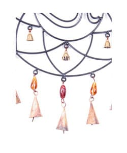 Handmade Iron Om Wind Chime (India)