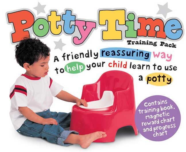 Potty Time Training Pack (Hardcover)