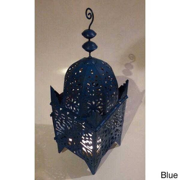 Handmade Marrakech Hurricane Lantern (Morocco)