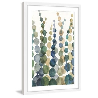 Porch & Den 'Pompom Botanical I' Framed Painting Print