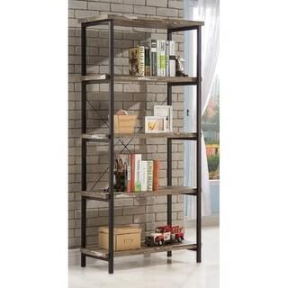 "Carbon Loft Dumont Industrial Salvaged Cabin 4-shelf Bookcase - 31.50"" x 17.25"" x 70.75"""
