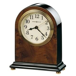 Howard Miller Bedford Classic, Traditional, Transitional, Piano Finish Mantel Clock, Reloj del Estante