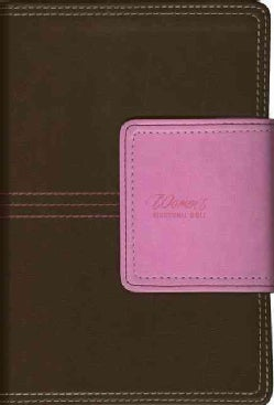 New Women's Devotional Bible: New International Version, Chocolate/Orchid, Italian Duo-tone, Compact (Paperback)