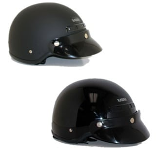 Deluxe Motorcycle Half Helmet (As Is Item) 31412174
