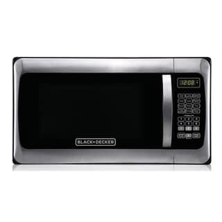 Black+Decker EM031MGG-X1 1.1-Cubic Foot Microwave, Stainless Steel