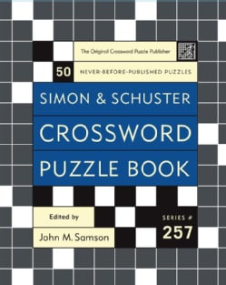 Simon & Schuster Crossword Puzzle Book (Paperback)