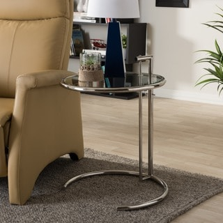 Eileen Gray Stainless Steel Accent Table