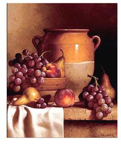 Confit Jar with Bowl by Speck Canvas Art Print
