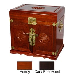 Merbu Wood 5-drawer Jewelry Box (China)