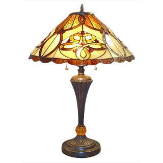Desert Sun Tiffany Table Lamp